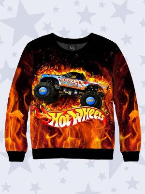 Свитшот Hot wheels fire