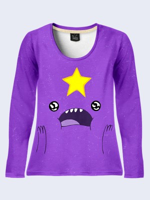 Лонгслив Lumpy Space Princess