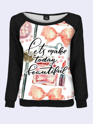 Свитшот Let's make today beautiful