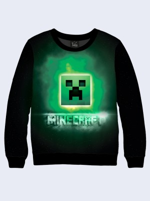 Свитшот Game Minecraft green