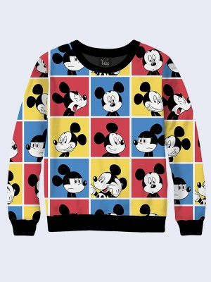 Свитшот Mickey Pop art