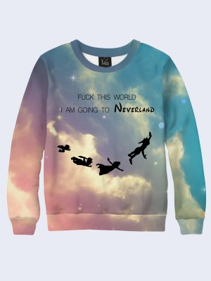 Свитшот I am going to Neverland