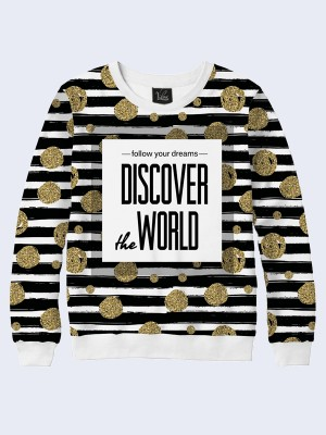 Свитшот Discover the World