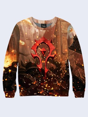 Свитшот For the Horde logo