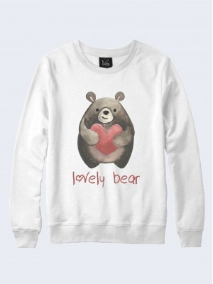 Свитшот Lovely bear