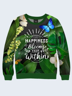 Свитшот Happiness blooms