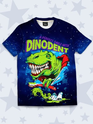 3D футболка Smile with dinodent