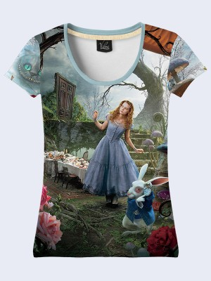 3D Футболка Alice in Wonderland
