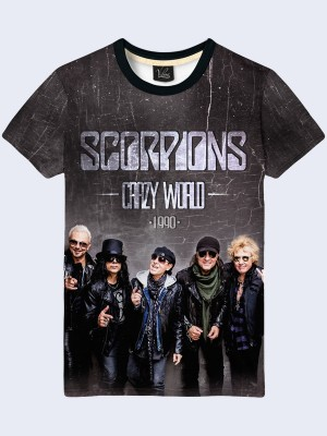 3D футболка Scorpions Crazy World
