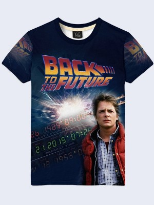 3D футболка Back to the Future Marty McFly