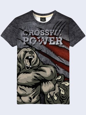 3D футболка Crossfit power