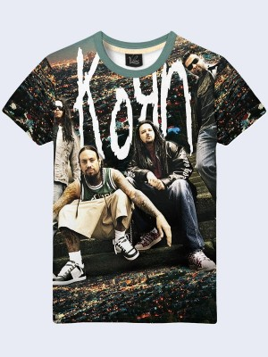 3D футболка Group Korn