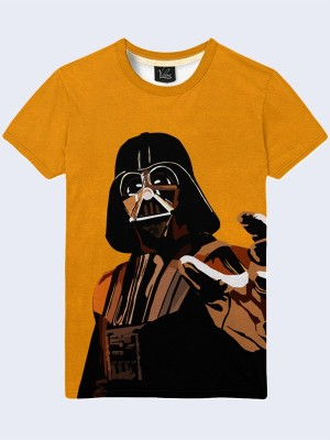 3D футболка Darth Vader orange