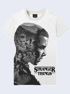3D футболка Stranger Things