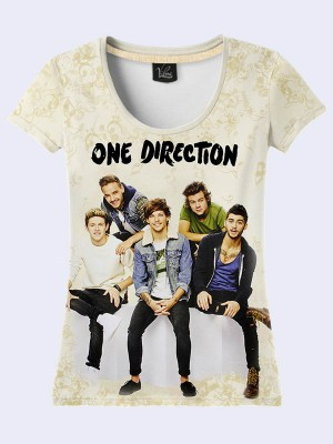 3D футболка Group One Direction