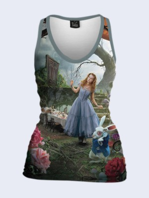 3D майка Alice in Wonderland