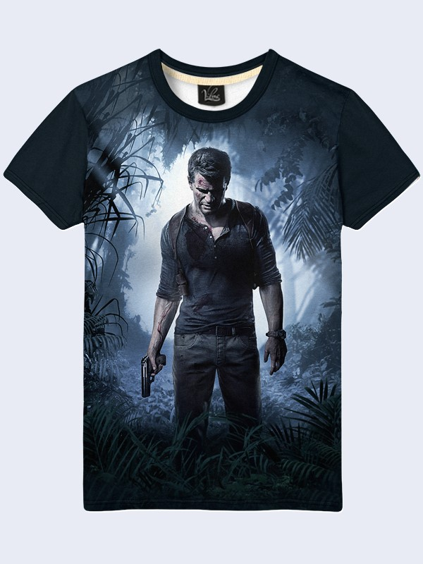 3D футболка Game Uncharted